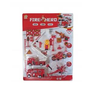 Set pompieri - Jucarii de plastic