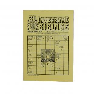 Integrame biblice - nr. 20
