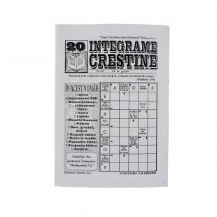 Integrame crestine - nr. 20