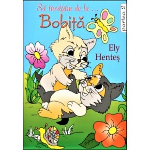 Sa invatam de la Bobita, vol 2 - povestiri crestine de colorat pentru copii