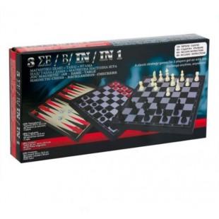 Joc magnetic Sah, Dame, Table - Joc pentru copii (6+)