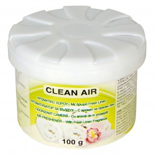 Odorizant gel de camera cu aroma de in proaspat (100g)