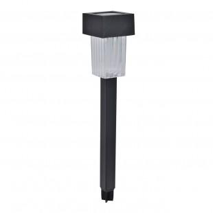 Lampa solara cu LED patrata (24 cm)