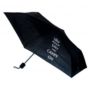Umbrela cu mesaj - Keep dry and carry on