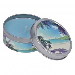 Lumanare in cutie metalica - Ocean Breeze