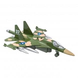 Jucarie avion militar, cu lumina si sunete (3+)