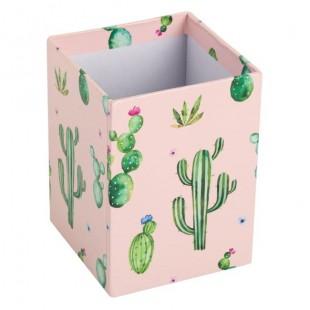 Suport de creioane din carton - Cactus (7x7x10 cm)