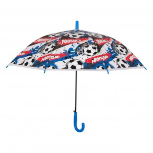 Umbrela pentru copii - Design fotbal (65 cm)