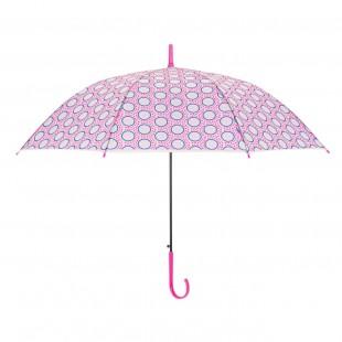 Umbrela pentru copii - Design cercuri roz (74 cm)