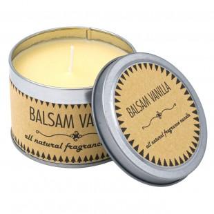 Lumanare aromata in cutie metalica - Balsam Vanilla