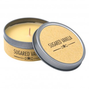 Lumanare in cutie metalica - Sugared Vanilla