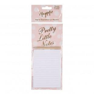 Notite adezive cu magnet si creion - Pretty Little Notes