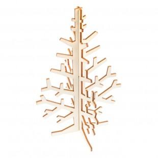Set creativ lemn Craciun - Brad (2 buc)