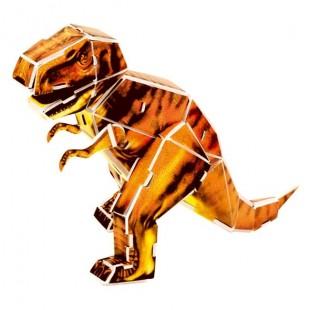 Mini puzzle 3D - Tiranosaur (44 buc)
