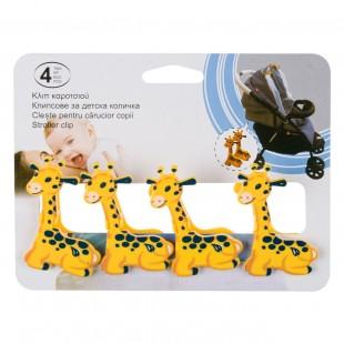 Clips carucior girafa