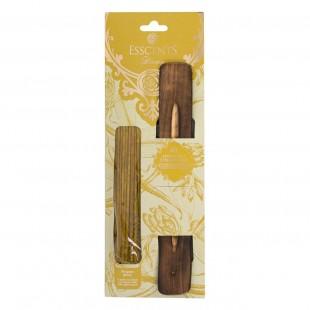 Set 4 betisoare aromate cu suport - Aroma de vanilie (25cm)