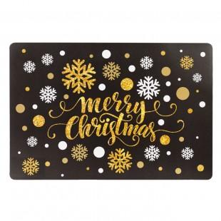 "Suport farfurie ""Merry Christmas"" (43x28cm)"