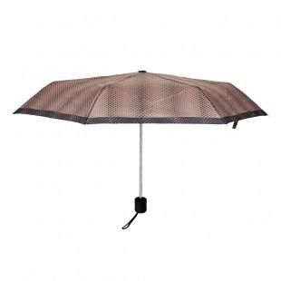 Umbrela adulti pliabila - Bej cu buline (27 cm)