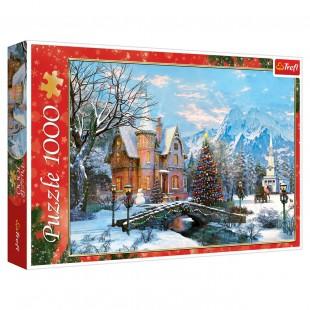 Puzzle Trefl - Peisaj iarna 1000 pcs