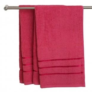 Prosop, bumbac, roz - Ysby (30x50 cm)