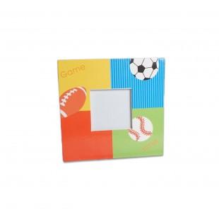 Rama foto copii - Patrata cu mingi (10x10 cm)
