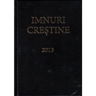Imnuri crestine adventiste cu note, format mediu, coperta vinil tare neagra