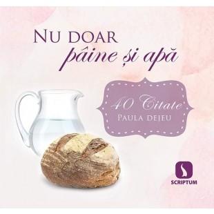 Nu doar pâine și apă. Set 40 carduri - Devotional crestin