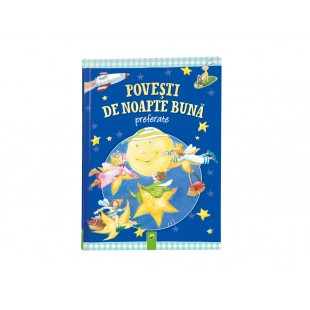 """Carte """"Povesti de nopate buna""""  (+4 ani)"""