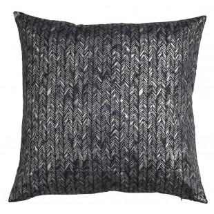 Fata de perna, negru-argintiu - Duehode (50x50cm)