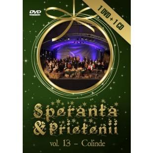 DVD, CD - Speranta si prietenii - VOL. 13 - Colinde