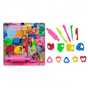 9 Matrite si unelte pentru Plastilina - Activitati pentru copii (3+)