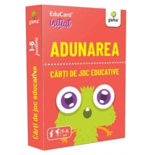 Carti de joc Educative - Adunarea (4-6 ani)