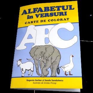 Alfabetul in Versuri - Carte de colorat