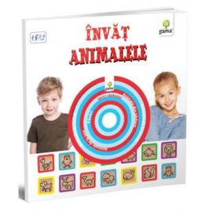 Invat animalele - Carte educativa pentru copii (2-5 ani)