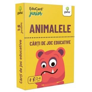 Carti de joc Educative - Animalele (2-4 ani)
