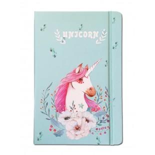 Caiet pentru femei - Unicorn ( 14x21x1.5 cm )