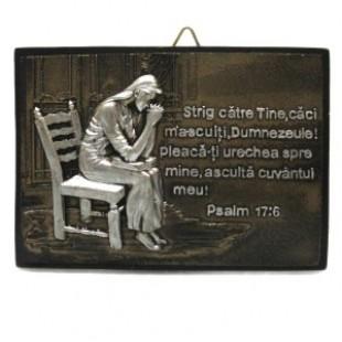 Aplica femeie in rugaciune - Strig catre Tine...