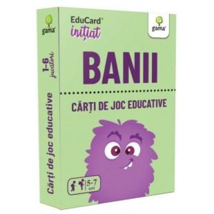 Carti de joc Educative - Banii (5-7 ani)