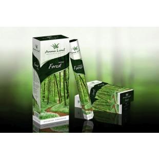 Set 6 cutii hexagonale cu 20 de betisoare parfumate - Forest