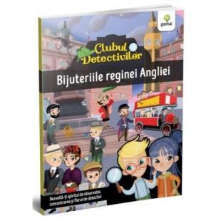 Bijuteriile Reginei Angliei - Carte cu activitati pentru copii (4-7 ani)