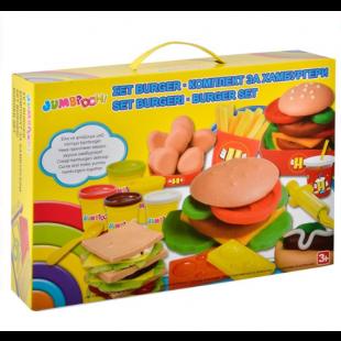 Creeaza Hamburgeri din Plastilina, DOH - Activitati pentru copii (3+)