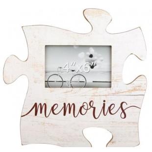 Rama foto din lemn, Puzzle - Memories - 1 poza de 15x10cm