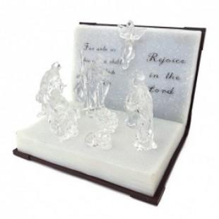 Carte cu figurine – Nasterea Domnului