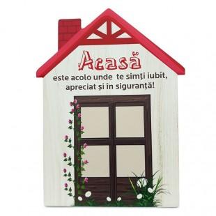 Aplica ceramica casa - Acasa este acolo..