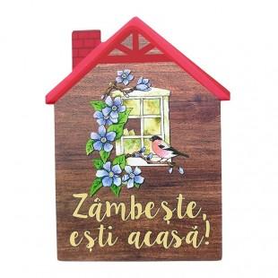 Aplica ceramica casa - Zambeste esti acasa!