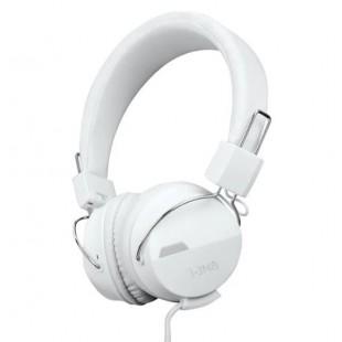 Casti audio reglabile, alb, i-JMB