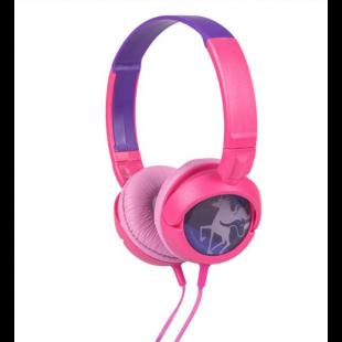 Casti audio roz - Unicorn, i-JMB