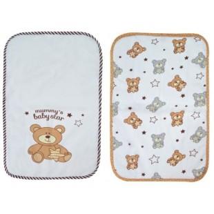 Baby Cute - Cearceafuri impermeabile - Ursuleti
