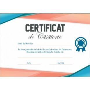 Certificat de Casatorie - model 3