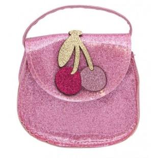 Geanta, roz glitter - Cirese (12x5x11 cm)